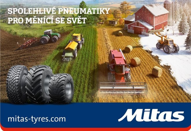 Mitas na AGRO SHOW Bednary