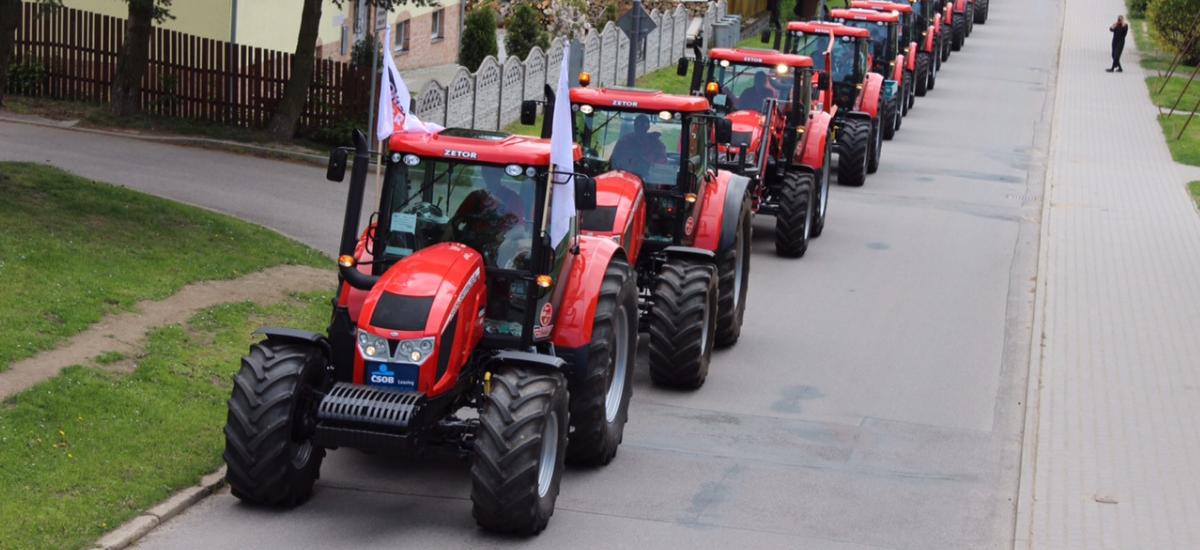 Řada traktorů Zetor
