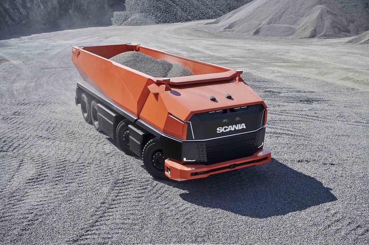 Koncept trucku Scania AXL