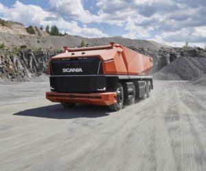 Scania ukázala autonomní nákladní automobil