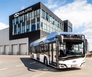Solaris bude prezentovat své autobusy s nulovými emisemi na Busworld v Bruselu