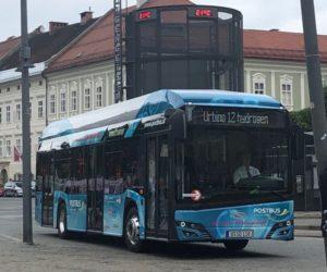 Do testování vodíkových autobusů Solaris se zapojuje více měst