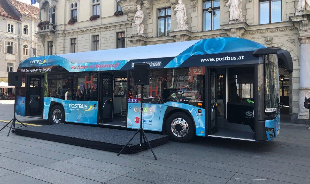 Testování vodíkových autobusů Solaris