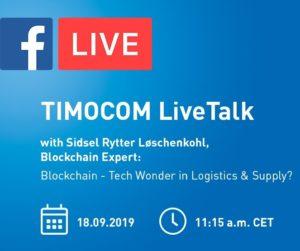Živá debata na téma blockchain v logistice