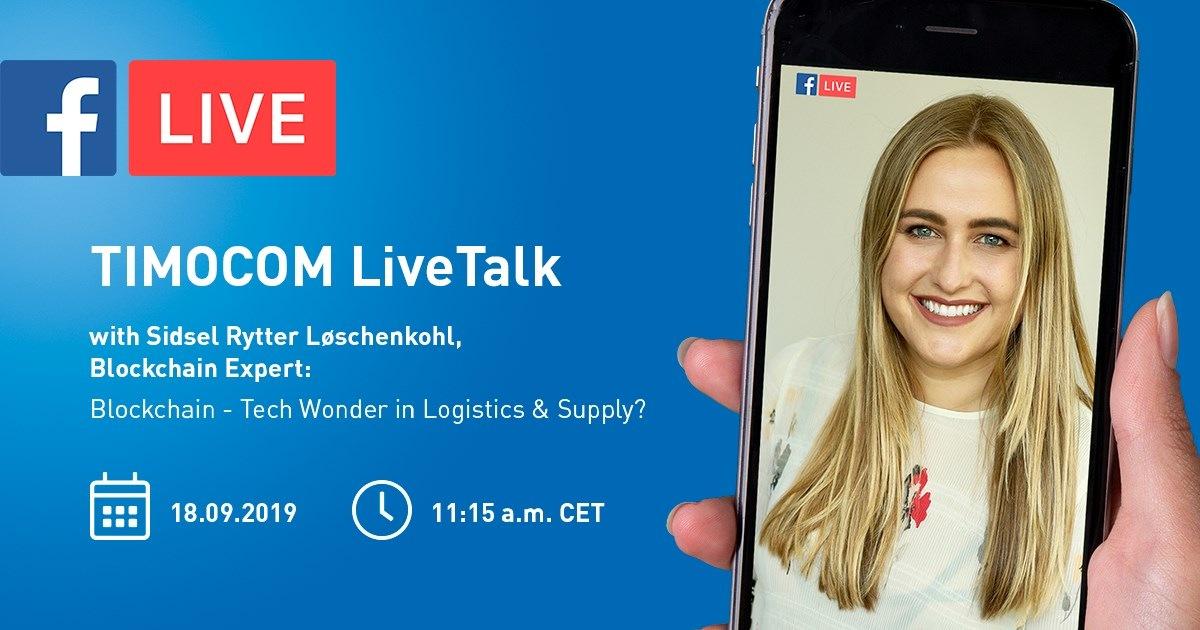 TIMOCOM LiveTalk na téma blockchain