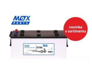Nové typy akumulátorů Max Parts jsou skladem u ADIPu