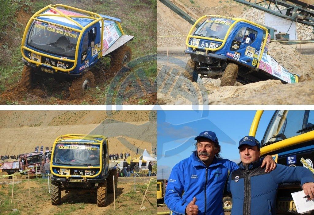 Bohumír Čáp počtvrté v řadě mistrem Evropy v Truck trialu