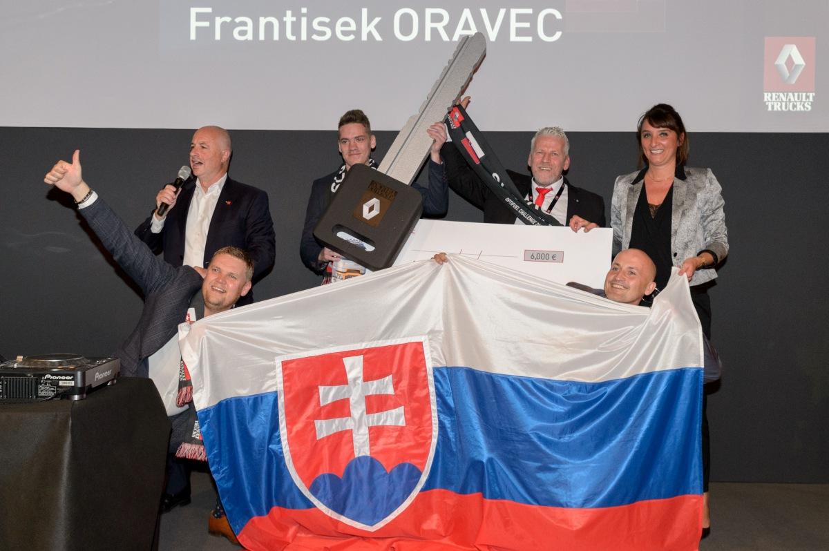 Slovensko se v Lyonu stalo vítězem soutěže OPTIFUEL CHALLENGE