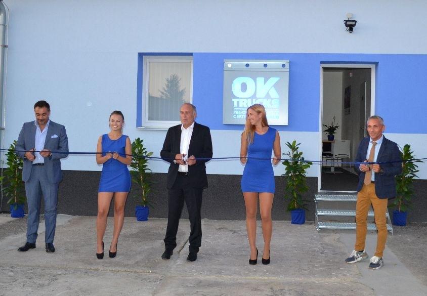 IVECO otevírá v Telnici první OK TRUCKS Centrum v České republice