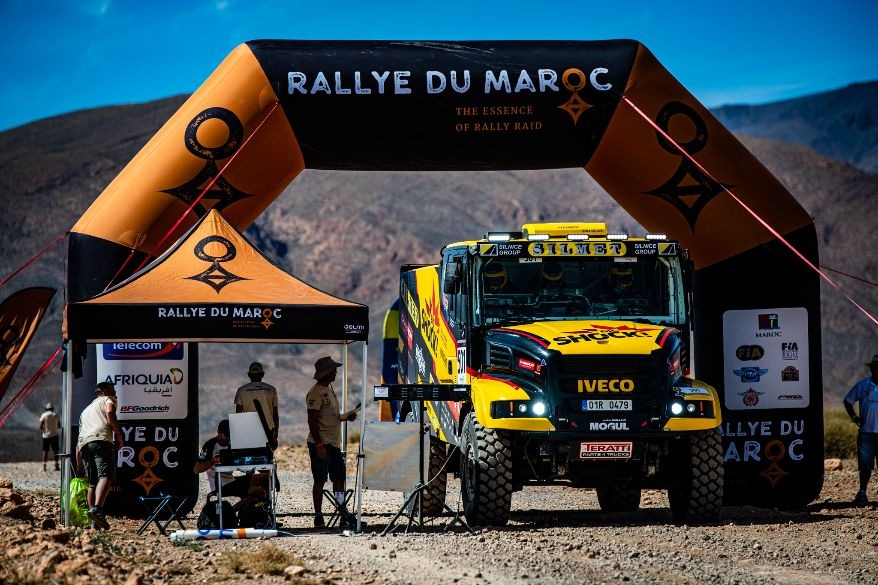 Rallye du Maroc Big Shock Racing team