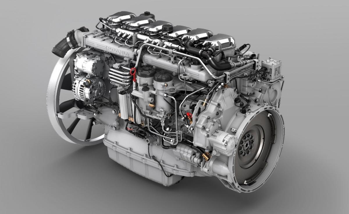 Nový motor Scania