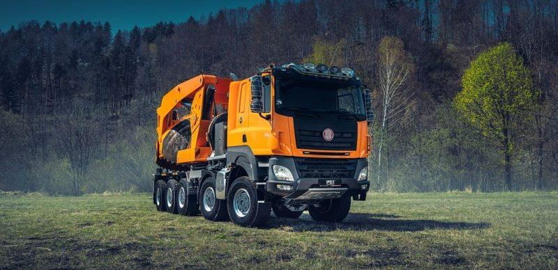 Unikátní Tatra pro speciální použití