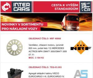 Inter Cars rozšířil sortiment pro truck, bus a argo