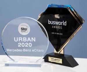 """Tři ceny pro Daimler Buses na veletrhu """"Busworld Europe"""""""