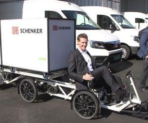 Udržitelná logistika v režii DB Schenker: první nízkoemisní distribuční terminál v Norsku