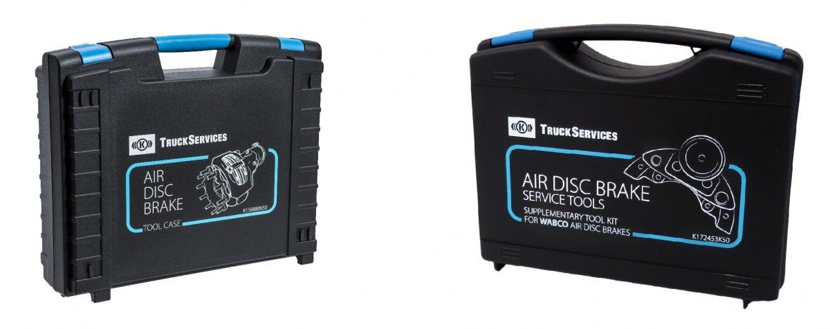 Servisní kufry pro kotoučové brzdy KNORR-BREMSE