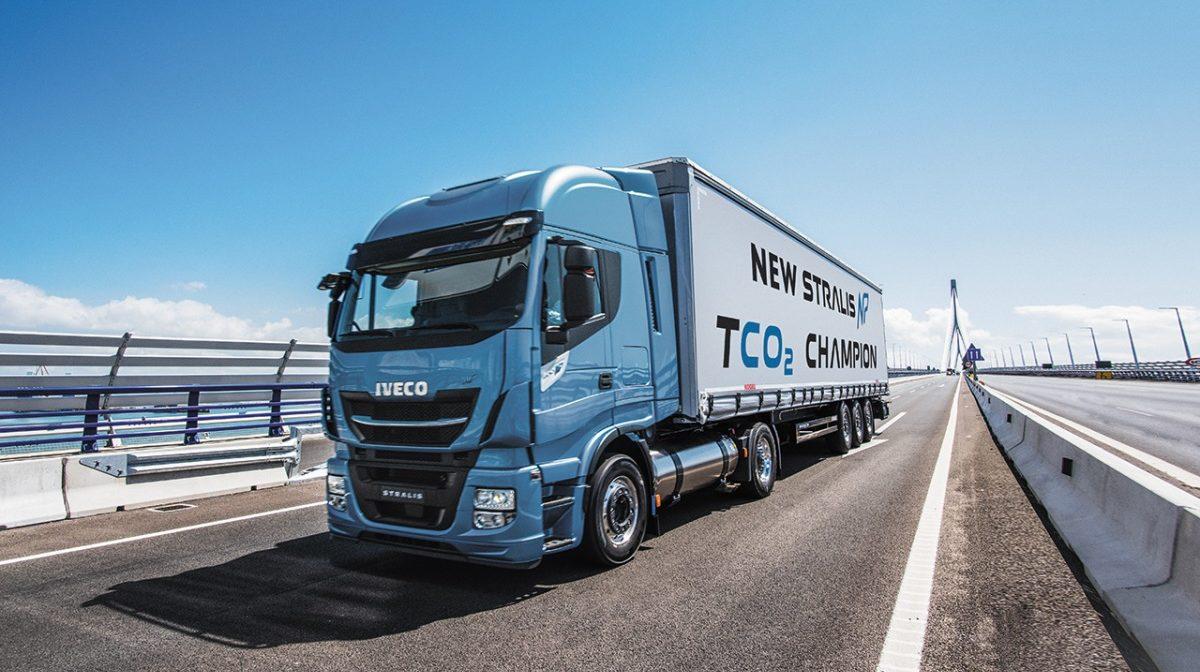 První tahač na LNG značky IVECO