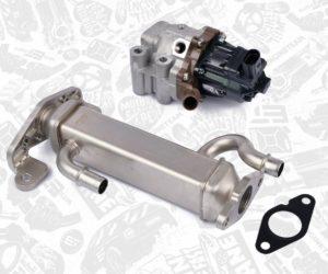 AGR ventil a chladič AGR ventilu pro Iveco Daily a Fiat Ducato skladem u K Motorshop