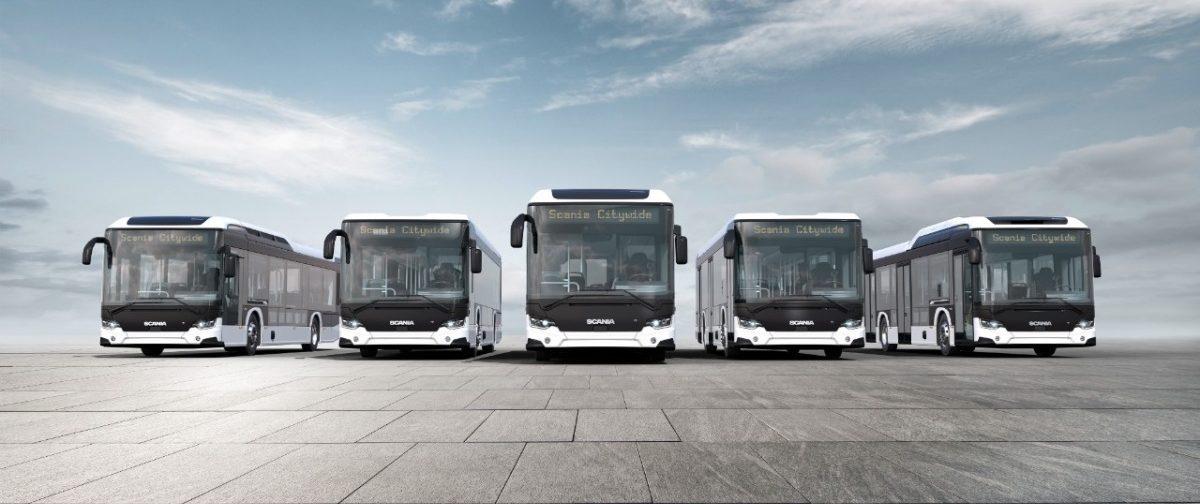 Scania autobusy