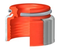 Vysokotlaké těsnění dříku ventilu SKF