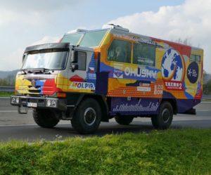 V Kopřivnici byl odhalen speciální automobil, který se vydá na expedici Tatra kolem světa 2