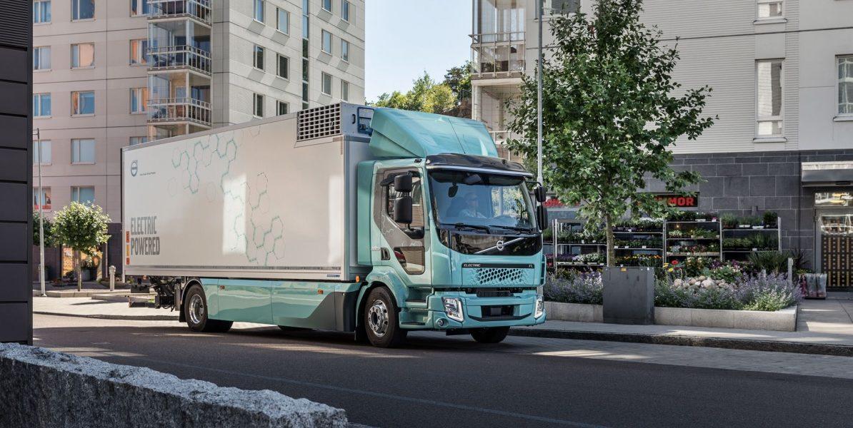 Volvo elektrický nákladní vůz