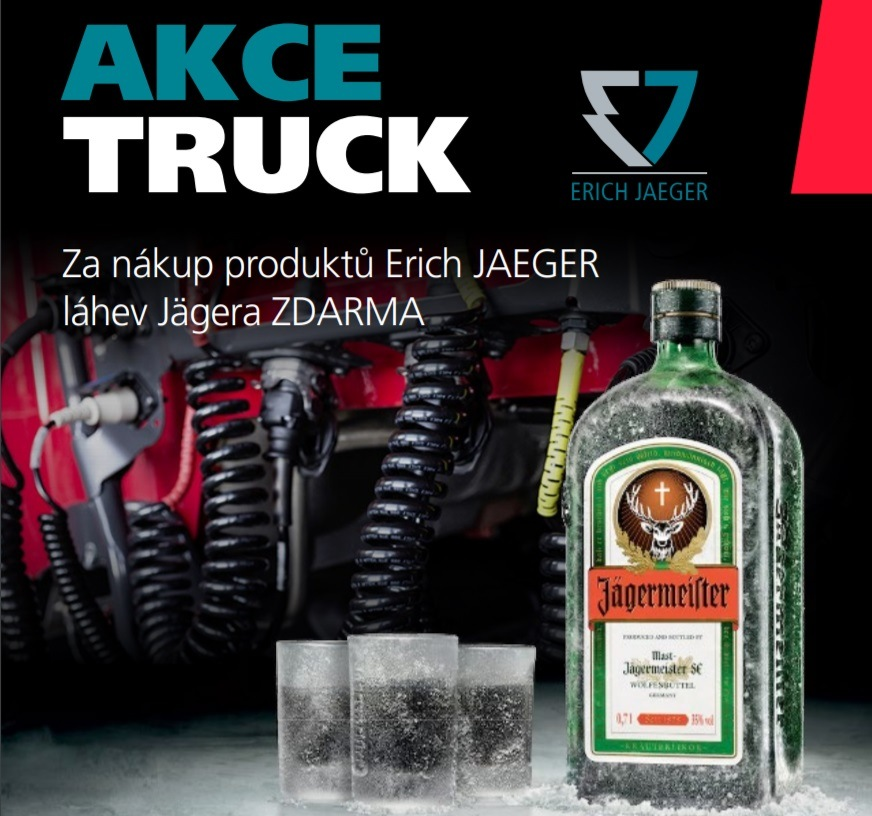 Za nákup produktů Erich Jaeger láhev Jägera zdarma u Elitu