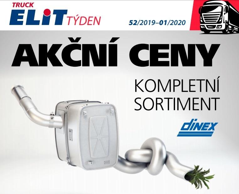 Akční ceny na kompletní sortiment Dinex u Elitu