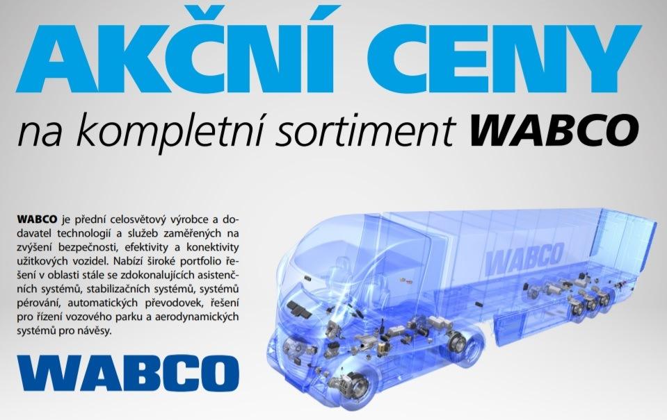 Sortiment Wabco za akční ceny