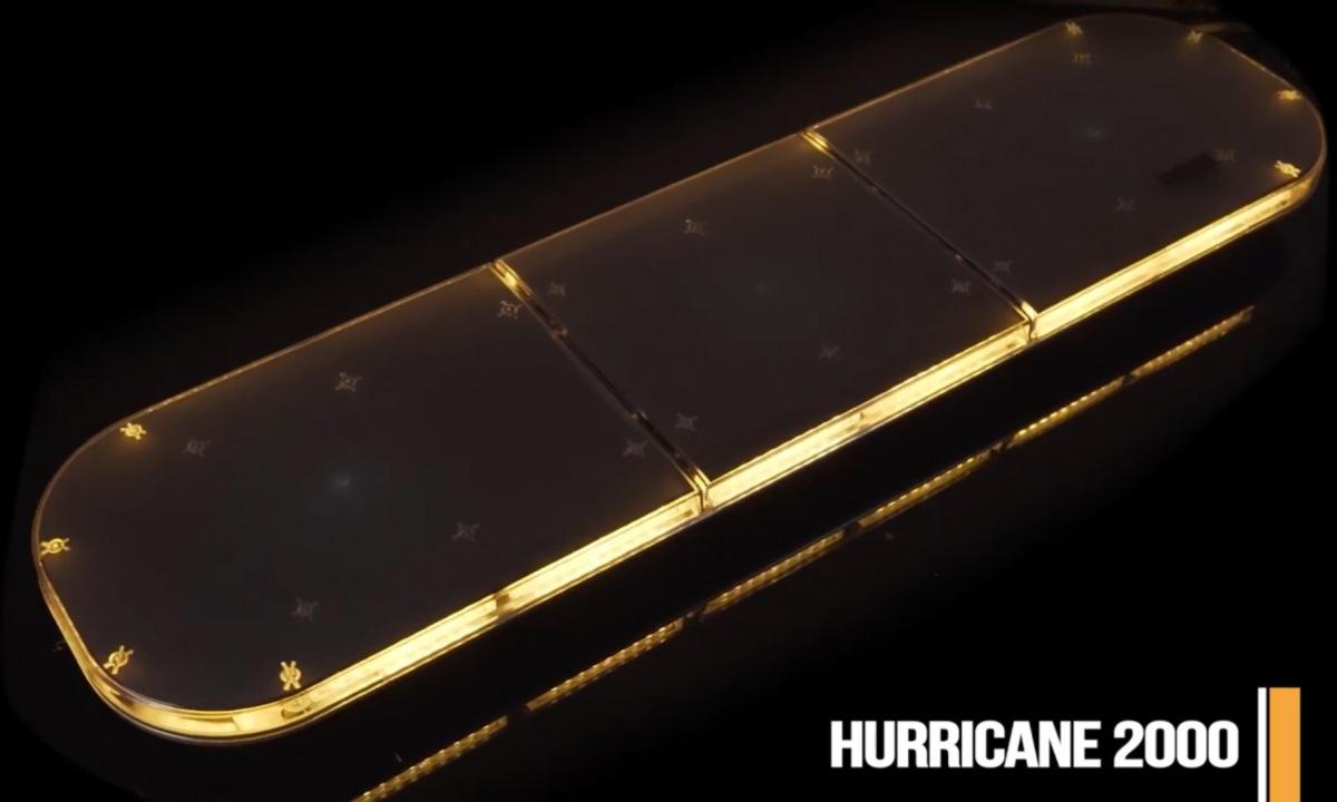 LED světelná rampa HURRICANE 2000