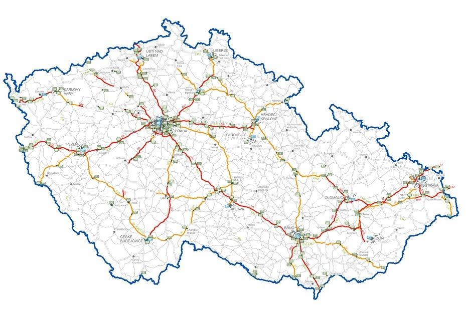 mapa mýto