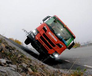 Posádkové kabiny Scania navrženy pro maximální bezpečí