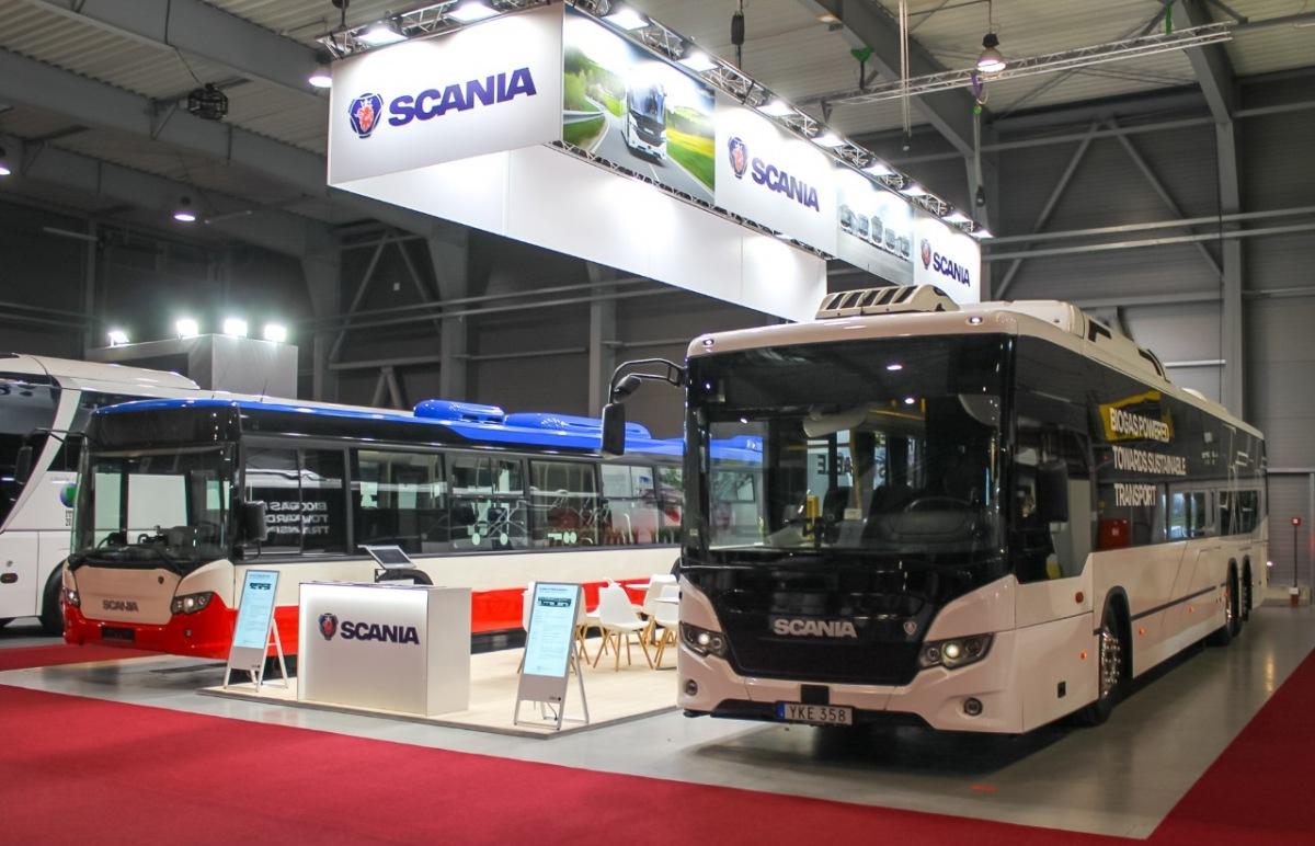 Scania na veletrhu CZECHBUS 2019