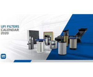 Nový kalendář firmy UFI Filters pro rok 2020
