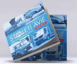 Firma AVIA vydala ke svému 100letému výročí knihu