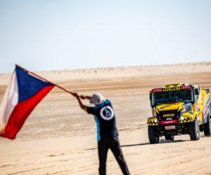 Macík vybojoval v Dakaru TOP 5, ve 12. etapě bronzový Brabec zvládl dokončit