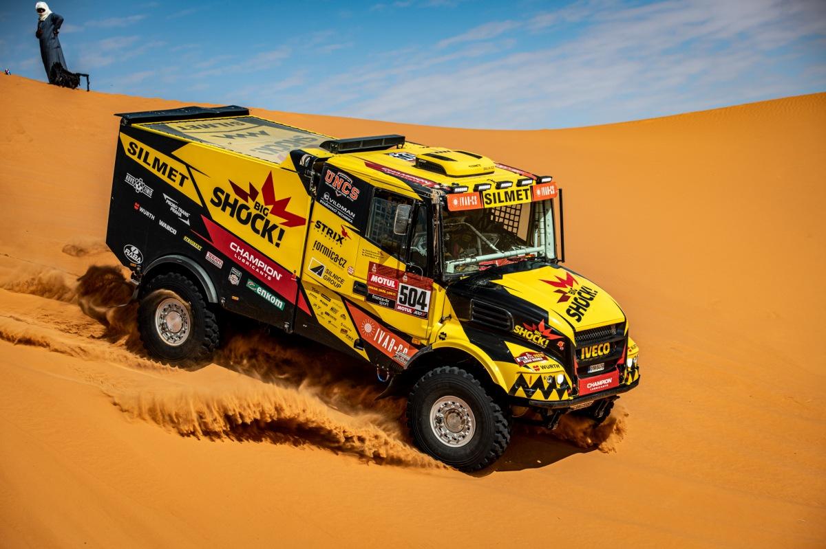 Big Shock Racing na Dakaru 2020
