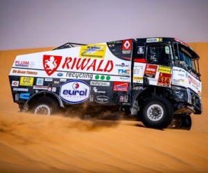 Dakar vstoupil do druhé půle