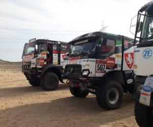 Dakar v neděli odstartuje se čtyřmi židovickými Renaulty