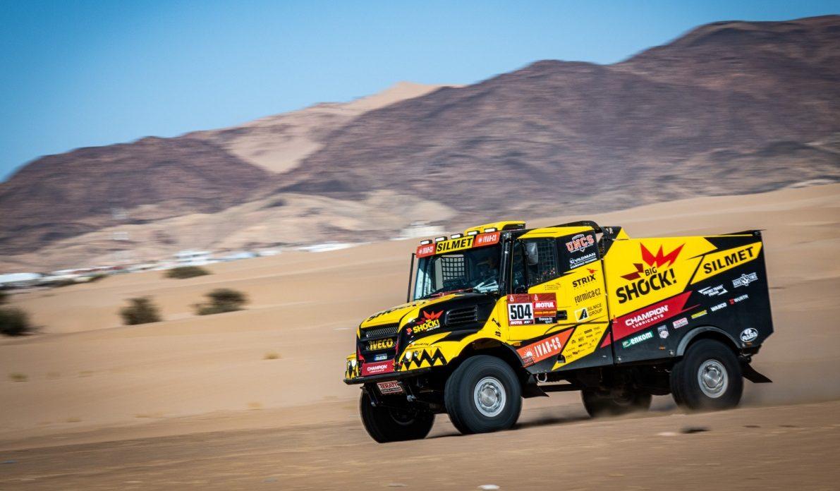 Big Shock Racing na Dakar 2020