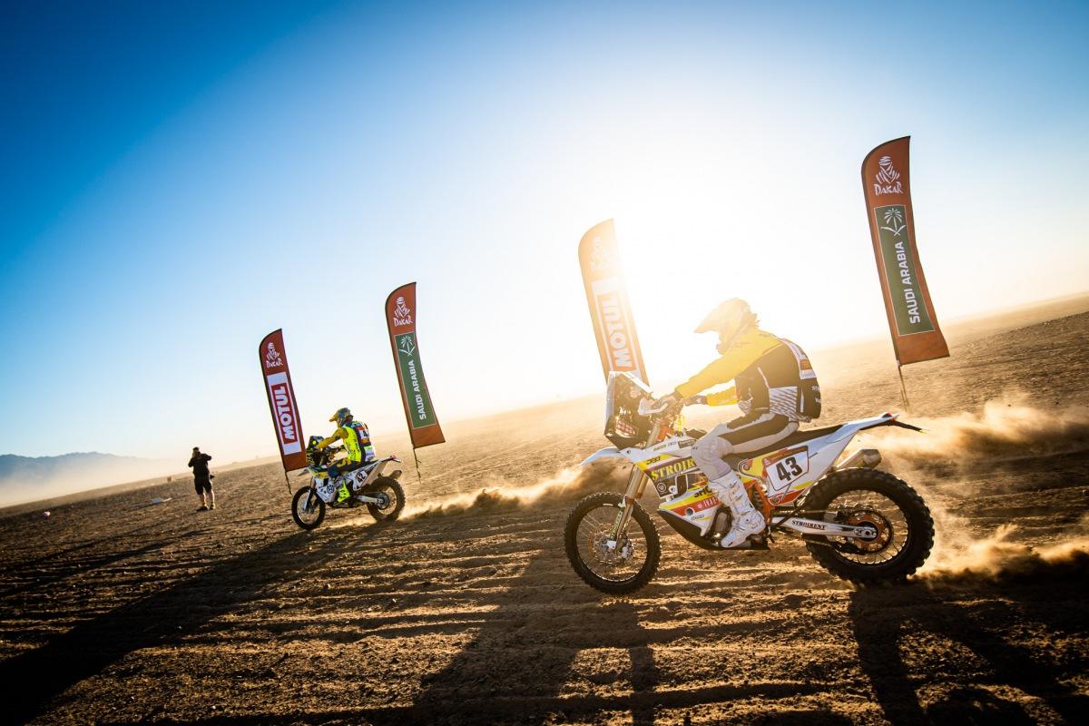 Jan Brabec na Dakar 2020