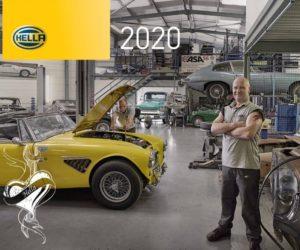Firma Hella představuje kalendář pro rok 2020