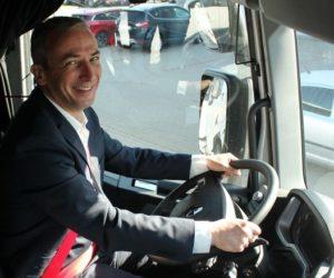 Pierre Jean Verge Salamon je od ledna generálním ředitelem Renault Trucks pro Českou republiku a Slovensko