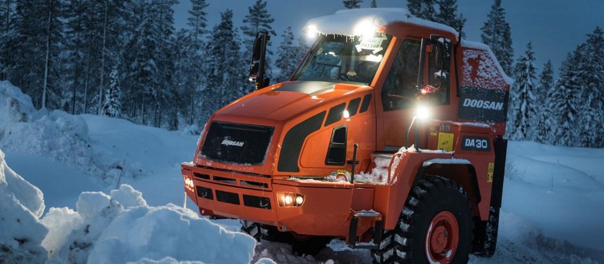 Doosan spolupracuje s firmou Scania
