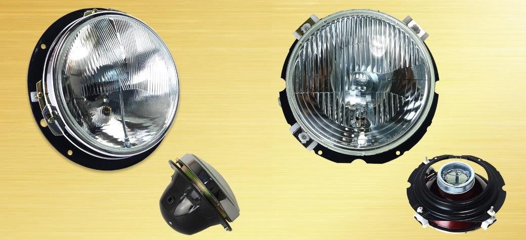 Originál světlomety na Tatry od Motokov u firmy Skarab