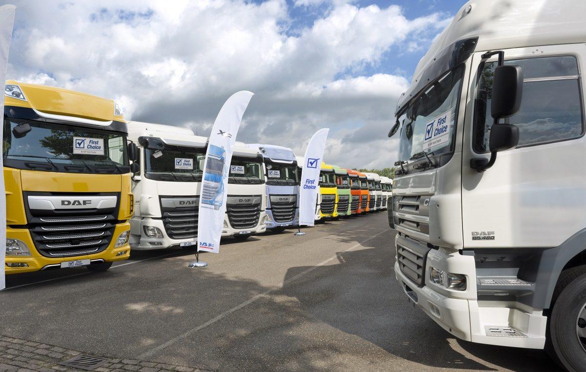 Použité vozy k dispozici u DAF Used Truck Centre