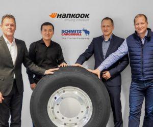 Hankook a Schmitz Cargobull rozšiřují strategickou alianci až do roku 2022