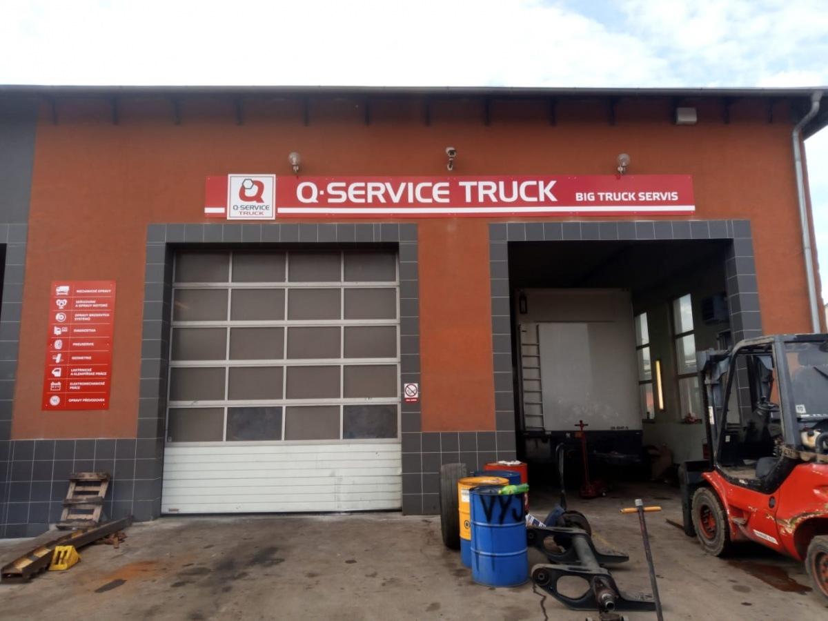 Servisní partner Q-service Truck - Big Truck Servis