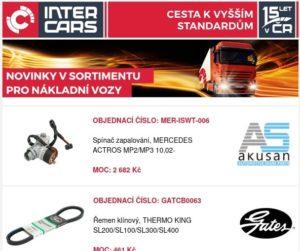 Novinky pro užitkové vozy a autobusy u Inter Cars
