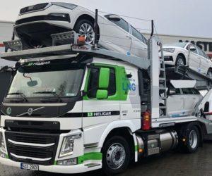 První Volvo LNG v České republice